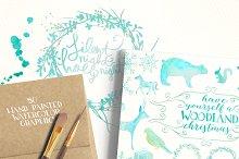 Woodland Christmas Graphics