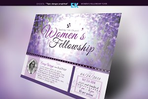 Women's Fellowship Flyer Template