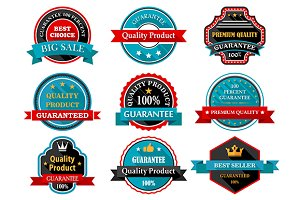 Quality guarantee retro labels colle