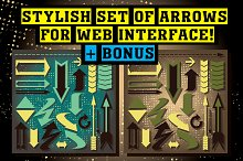 Arrows for web interface