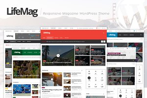 LifeMag - Magazine WordPress Theme