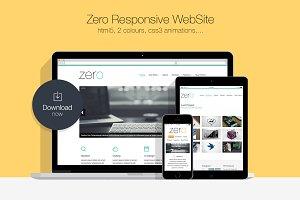 Zero • Responsive HTML5 WebSite