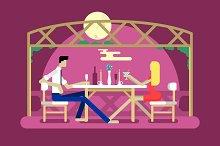 Romantic date design