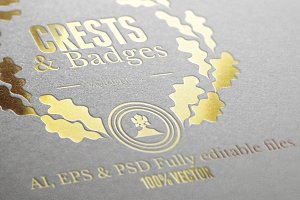 Crests Badges & Labels Vol.2