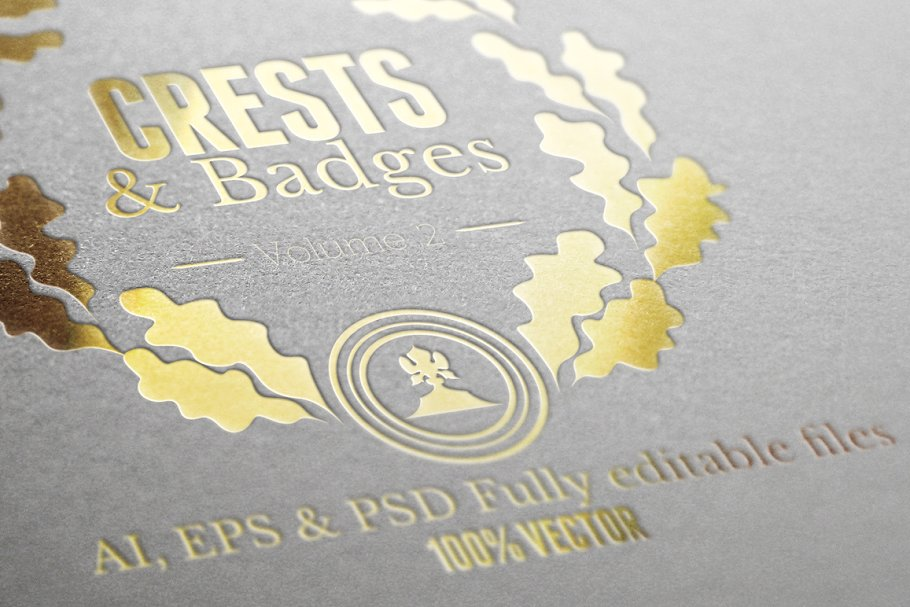 Crests Badges & Labels Vol 2