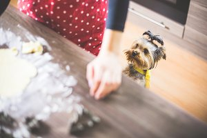 Christmas Baking: Our Little Helper