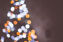 Christmas Tree Bokeh Lights
