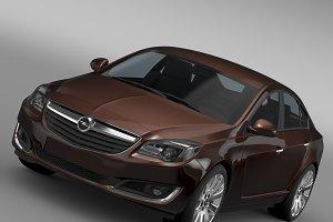 Opel Insignia Turbo 2015