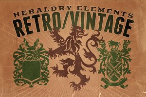 Vintage shapes - Heraldry Elements