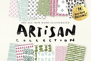 Artisan- Illustrated Patterns+Bonus!