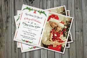 Christmas & New Year Invitation-V149
