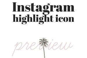 25 instagram highlight summer icons pre designed photoshop graphics creative market 25 instagram highlight summer icons