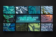 LIQUID ICELAND - Abstract textures