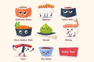 Cute Sushi (set1)