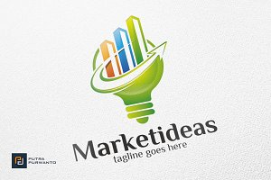 Market Ideas / Chart / Graph - Logo