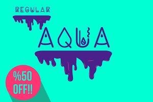 Aqua Font Regular