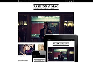 Fashion & Mag Responsive Theme
