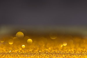 Gold Festive Christmas background