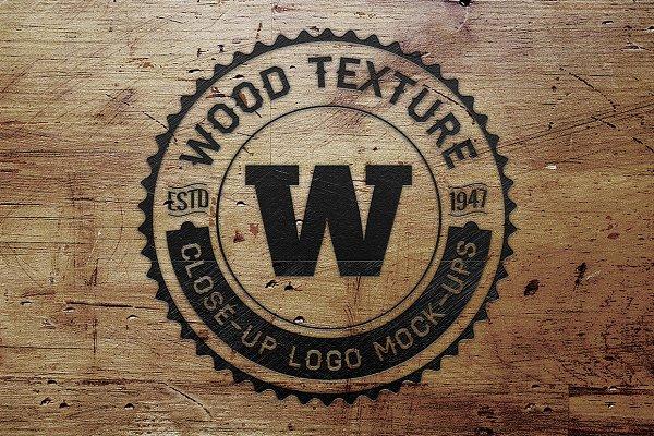 5 Vintage Overlay Textures Mock-up