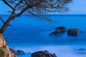 Costa Brava blue hour