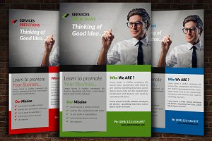 Marketing Consultant Flyer Template