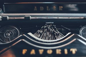 Typewriter Detail