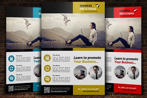 Personal Finance Flyer Template