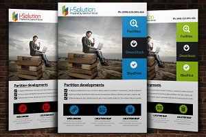 IT Solution Flyer Template
