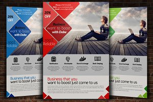 Computer Services Flyer Template