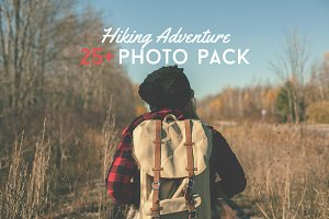 25+ Hiking Adventure Photo Pack