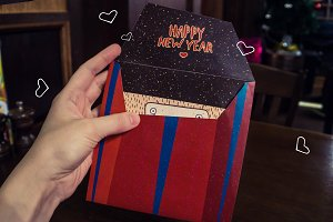 Gift Box - Square envelope