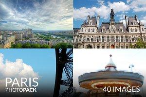 Paris Photo Pack - 40 Images