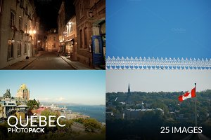 Québec City Photo Pack - 25 Images