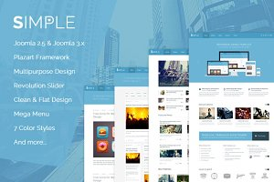 Simple Love - Joomla Template
