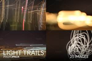 Light Trails PhotoPack - 25 Images