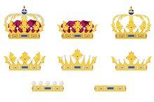 Medieval crowns