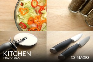 Kitchen PhotoPack - 30 Images