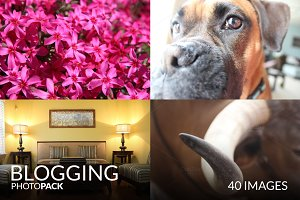 Blogging PhotoPack - 40 Images