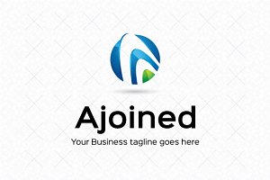 Ajoined Logo Template