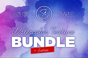 Watercolor Bundle + Extras