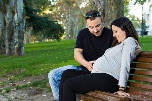 Pregnancy in the park
