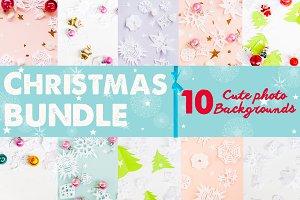 Christmas bundle paper snowflakes