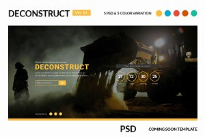 Deconstruct Coming Soon version 01