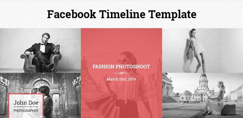 facebook timeline template website templates creative market