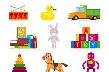 Kids toys set