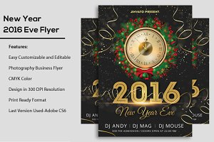 2016 New Year Flyer
