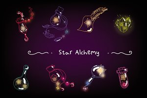 Star Alchemy set