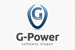G Power Logo Template