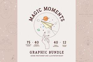 Magic Moments Graphic Bundle//Zodiac