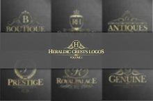 Heraldic Crest Logos Vol.1